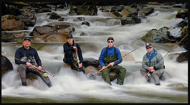 Pitt River Wilderness Lodge Fishing Guides